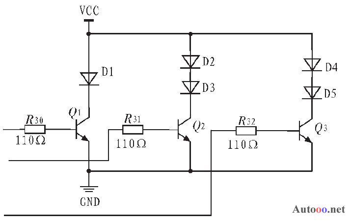 图4 温度采集电路图
