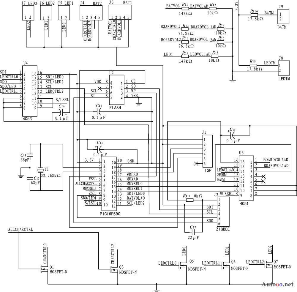 自适应单纯太阳能路灯控制器的设计